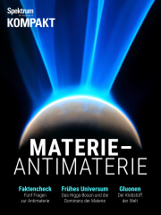 Cover Spektrum Kompakt:  Materie – Antimaterie