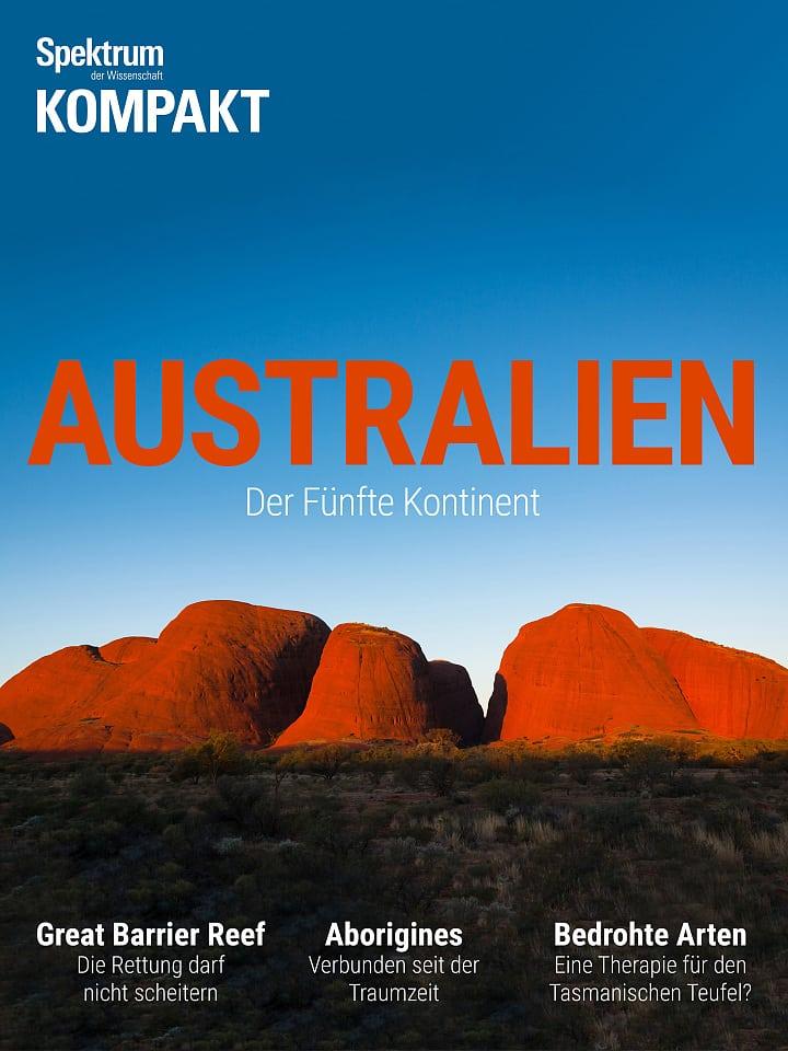 Accordo sullo spettro: Australia - il quinto continente