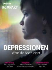 Cover Spektrum Kompakt:  Depressionen – Wenn die Seele leidet