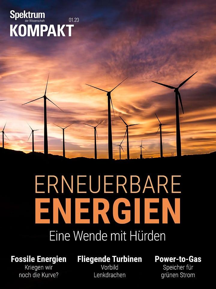 طیف فشرده: انرژی های تجدید پذیر - یک نقطه عطف با موانع