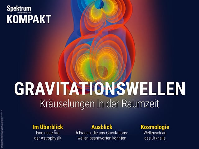 Spektrum Kompakt:  Gravitationswellen – Rippel in der Raumzeit