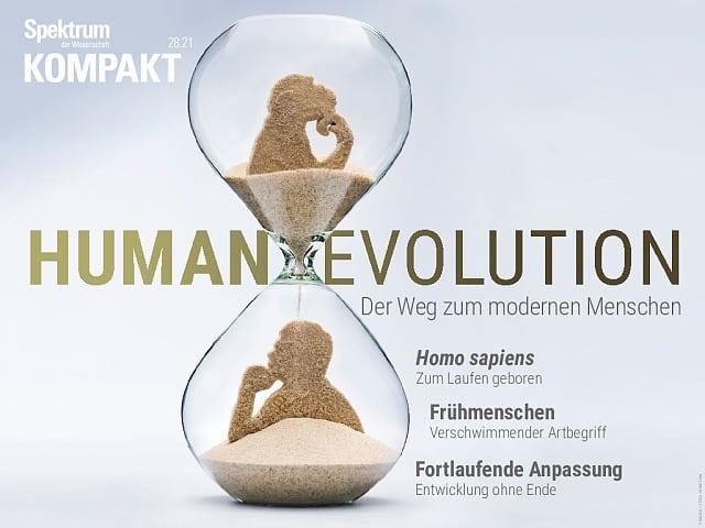 طیف فشرده: تکامل انسان - خاستگاه انسان مدرن