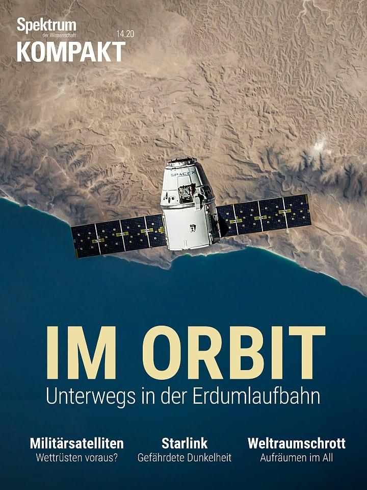 Presión de frecuencia del espectro: en órbita - mientras se mueve en la órbita de la Tierra