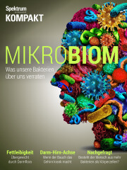 Cover Spektrum Kompakt: Mikrobiom – Was unsere Bakterien über uns verraten