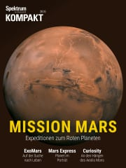 Cover Spektrum Kompakt:  Mission Mars – Die aktuellen Expeditionen zum Roten Planeten