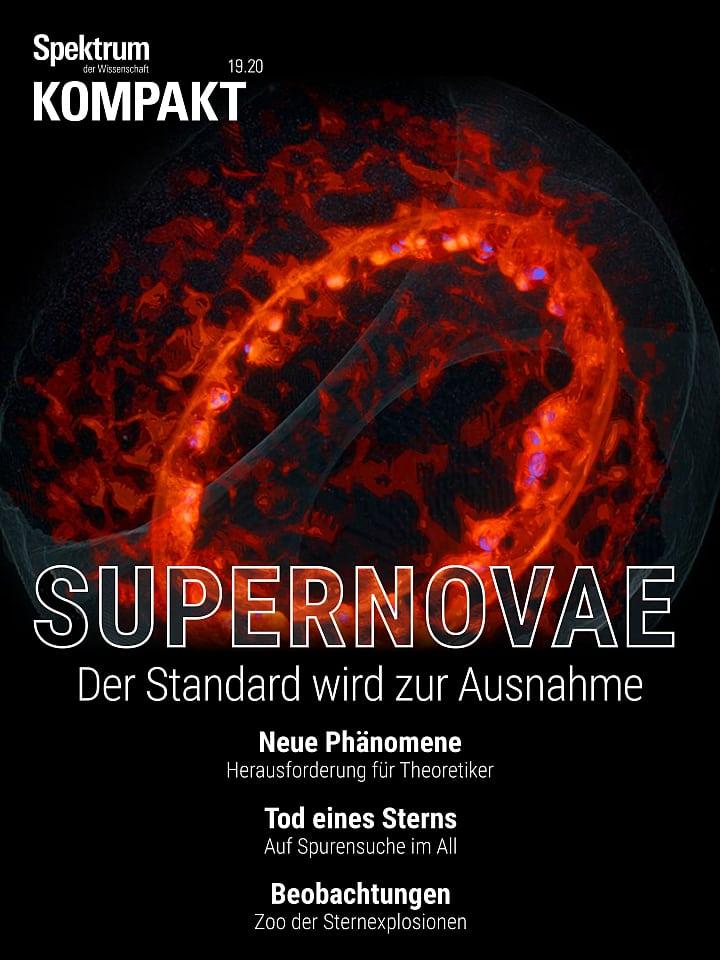 Presión del espectro: supernovas: la norma se convierte en la excepción