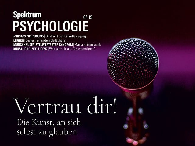 Spektrum Psychologie:  5/2019 (September/Oktober)