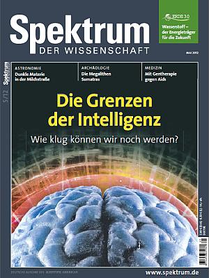 Titelbild von Spektrum der Wissenschaft 05/2012